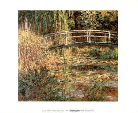 Bacino Con Ninfee - Claude Monet