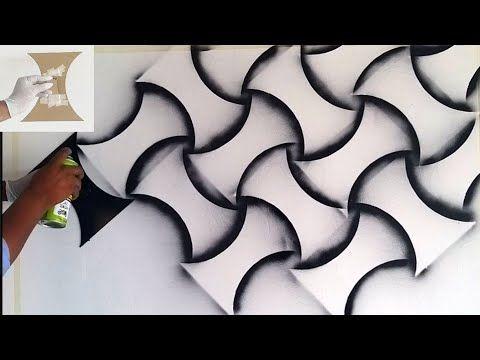 3d Wall Painting New Creative Design Youtube Pintura De Parede