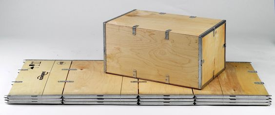 Image result for plywood storage box