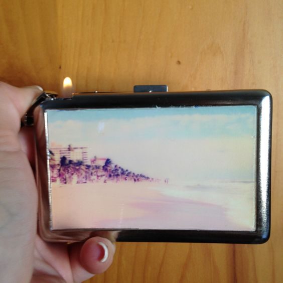 A personal favorite from my Etsy shop https://www.etsy.com/listing/215730001/beach-cigaretteid-case-w-built-in