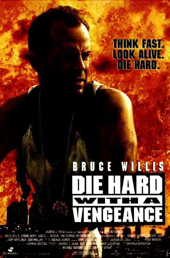 Die Hard With A Vengeance 1995 Hard Movie Classic Movie Posters Best Movie Posters