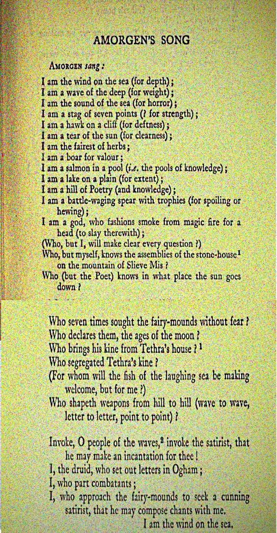 gaelic poem - Google Search