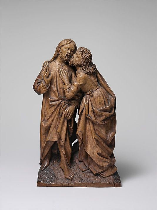 The Kiss of Judas, 16th century, Made in, Lower Rhine, Germany, Oak
