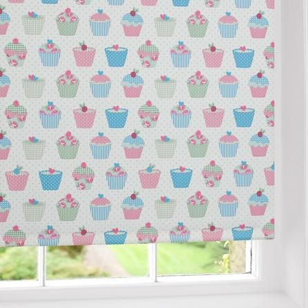 Cupcakes Blackout Roller Blind Dunelm Kitchen