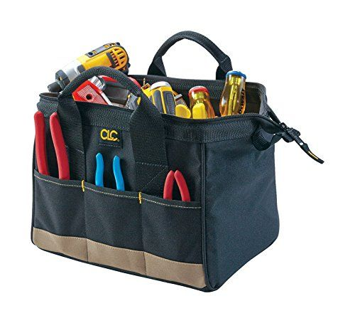 Top Grain CLC Custom Leathercraft I933 Carpenter/'s Nail and Tool Bag 10-Pocket