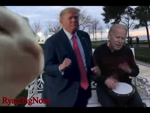 Biden Sings Trump Dances Cat Vibes Ievan Polkka Deepfake Youtube Good Morning Funny Pictures Good Morning Funny Funny Relatable Memes