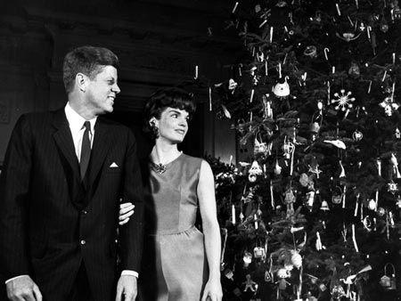 JF and Jackie Kennedy - 1962