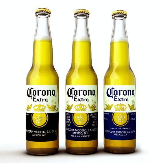 Bia Corona Extra 4,6% - Chai 355ml - Bia Nhập Khẩu