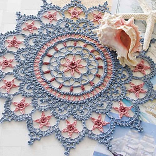 Crochet World June 2011: Follow the Stars Home pattern by Kathryn White: