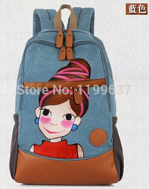 Youk-Shim-Won-hand-painted-package-young-shoulders-canvas-bags-computer-bag-student-s-schoolbag.jpg 302×384 píxeles
