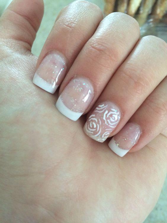 Francés con rosas