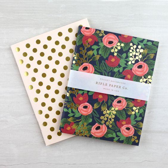 Pocket Notebook Set - Rosa