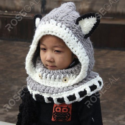 Shark Shape Winter Autumn Caps Chapeau Kids Hats Knitted Children Clothing