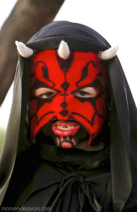 DIY Darth Maul Mask