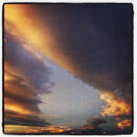 Helena cloud sunset I've snapped