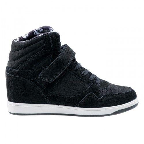 Zdjecie Damskie Buty Darla W 3794 Black Iguana Z Firmy Iguana Wedge Sneaker Shoes High Top Sneakers