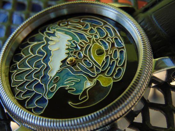 Silver enamel dial. B6c98b4f84bb96415cf0dc1553c3016b