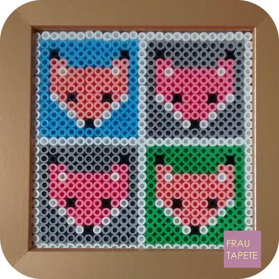 Zorros | Foxes [Hama Beads]