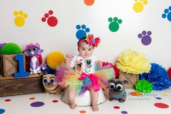 Puppy Dog Pals Birthday Tutu Outfit Girls Puppy Dog Pals Party