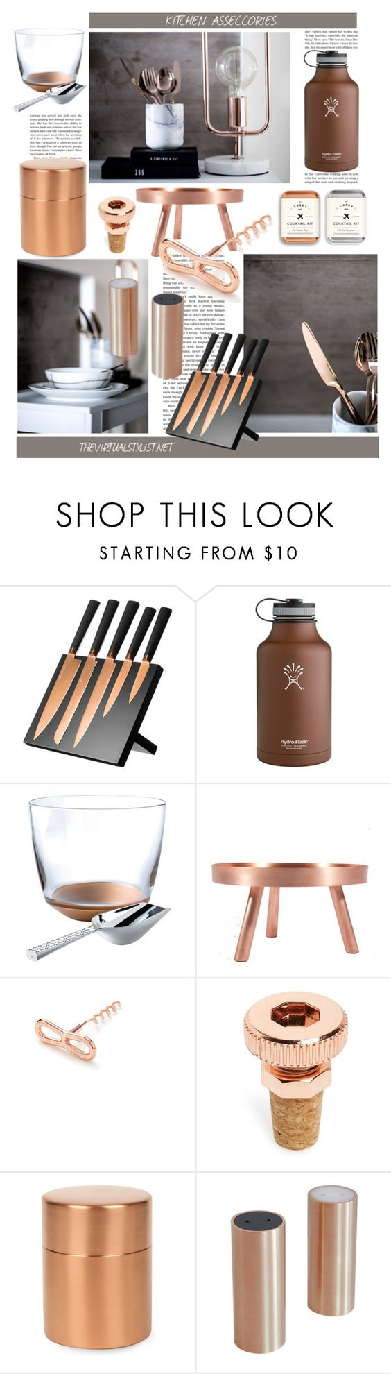 """KITCHEN ACCESSORIES"" by efashiondiva7 ❤ liked on Polyvore featuring interior, interiors, interior design, Zuhause, home decor, interior decorating, Viners, Wedgwood, fferrone design und Forever 21"