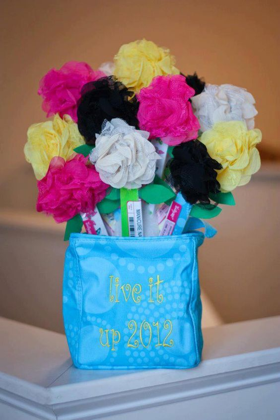 Contact me if interested in ordering supplies to make this!  Thirty-One Rosette:  $5 each on Thirty-One Nail File:  $2 each inside a Littles Carry All Caddy:  12.  Great for teacher gifts, friend pick me ups, co-worker appreciation gifts! About a $10 gift!