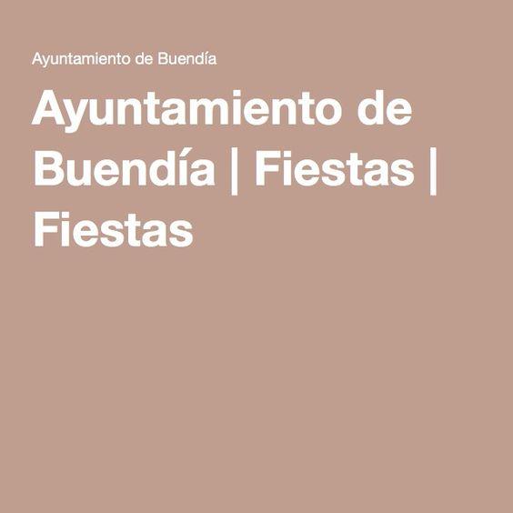 """PROGRAMA • Buendía (Cuenca) 11 al 14 de Septiembre · 2015  Texto en web - hacer clic en """"Las Fiestas de Septiembre"""" http://ayuntamientodebuendia.com/fiestas/1_fiestas"""