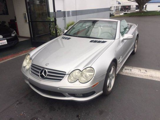 Convertible 2003 Mercedes Benz Sl 500 With 2 Door In San Diego