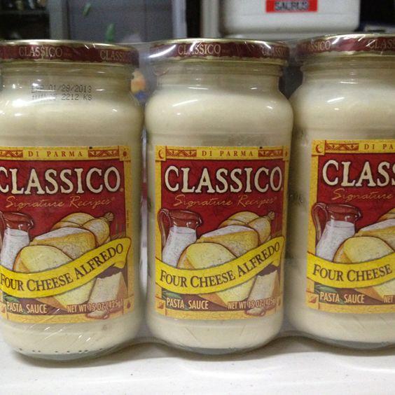 パスタソース(4チーズアルフレッド) 425g  3P   COSTCO