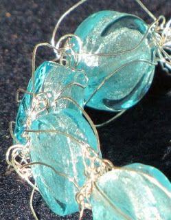 DesigningVashti: The Blog: Using Crochet Jewelry with Wire Free Patterns
