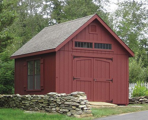 10 X 14 T 1 11 Manor Cape By Kloter Farms Farm Shed Garage Door Design Farmhouse Sheds