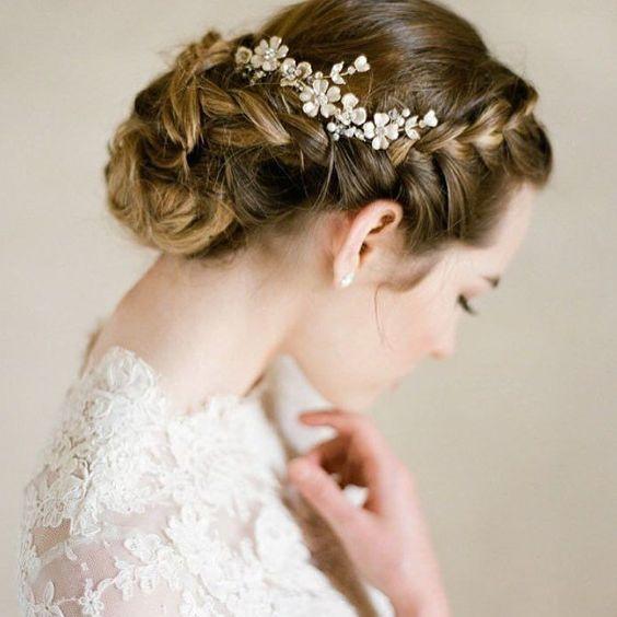 H A I R. #hair #bride #wedding #vintage by wedding__vintage www.womw.co