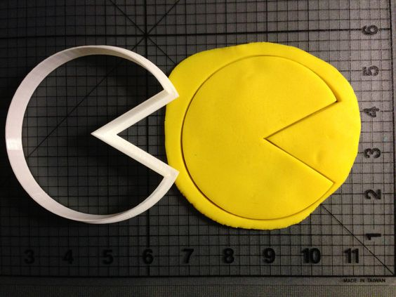 PacMan  Cookie Cutter by JBCookieCutters on Etsy, $4.50