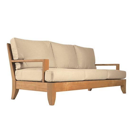 Santa Barbara Patio Furniture #24: 79u0026quot; Santa Barbara Sofa