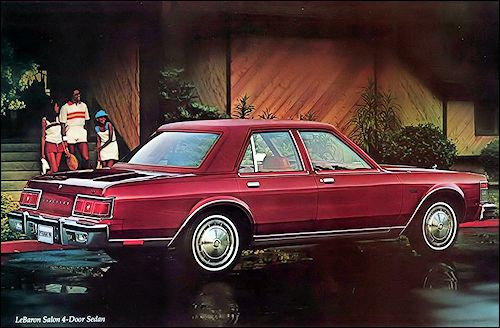 1979 Chrysler Lebaron Salon With Images Chrysler Lebaron
