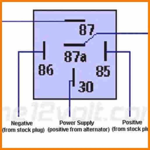 5 12v Relay Wiring Diagram 5 Pin Cable Diagram Relay Diagram Power