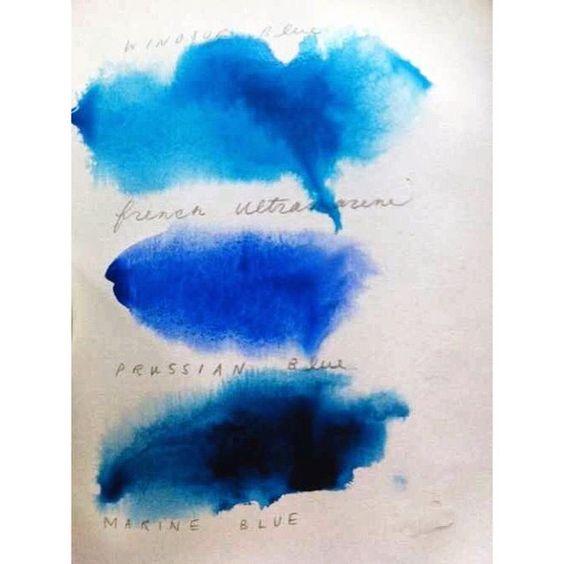 BLUE | colour study