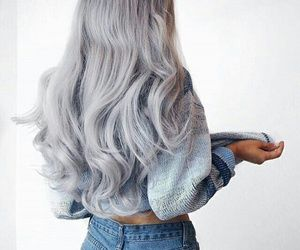 #beauty #hair #grayhair #silverhair #hair ʚ♡ɞ pin: @soyvirgo ♡ ◌ ◌ ◌
