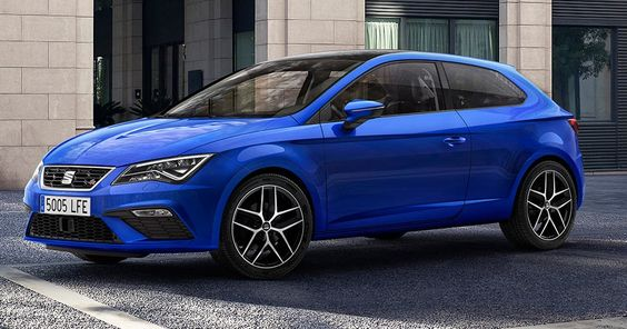 Facelifted 2017 Seat Leon Comes With Mild Styling Tweaks And New Engines #New_Cars #SEAT