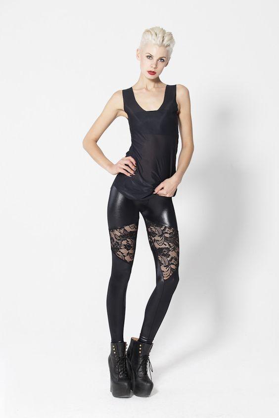 Spartans Lace Leggings