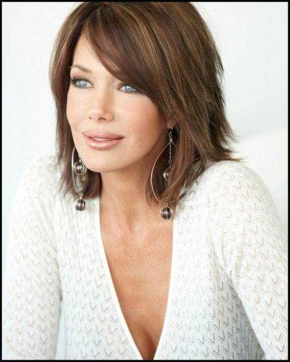 Outstanding Hairstyles Thin Hair And Medium Lengths On Pinterest Hairstyles For Women Draintrainus