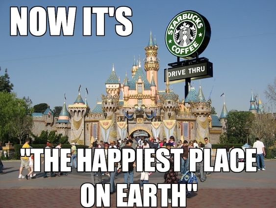 Starbucks Disney :-)