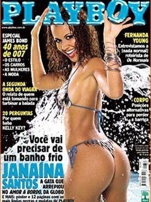 Foi em agosto de 1975 que a revista Playboy estreou no Brasil. 40 anos depois, na manhã desta quinta-feira (19), a editora Abril, responsável pela publicação no país, anunciou o fim da versão brasileira. Ao longos destes anos, em 486 edições que foram às bancas, apenas nove mulheres negras estamparam a capa da revista voltada ao público masculino, o que dá um percentual de apenas 1,85% das capas, em um país onde cerca de 51% da população é negra. 10/2002 Janaina Santos