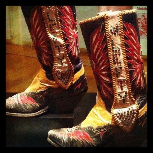 Lefty Frizell's badass boots.