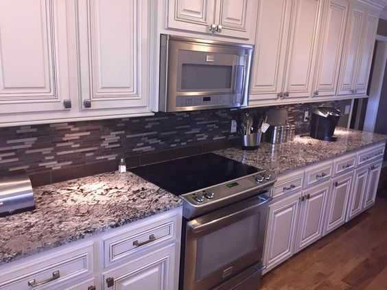 Lennon granite > Kitchen countertops > Kitchen ideas > Modern kitche...