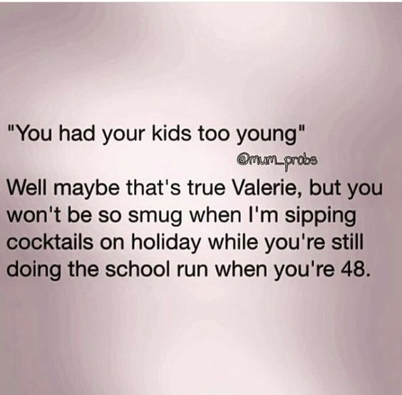 This is true! I'll be sipping and you won't!!