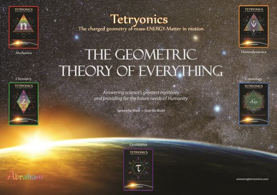Tetryonic geometry - the unified theory of Everything - solving science's greatest mysteries    www.youtube.com/tetryonics