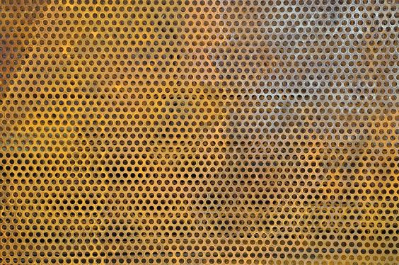 Rusted Mild Steel Perforated Sheet Form 15 Inspiration
