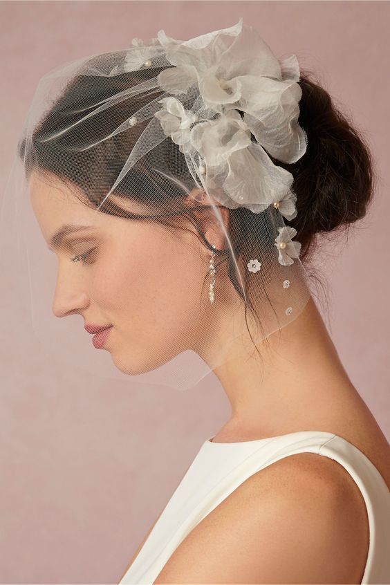 Nicolette Flower Blusher by Debra Moreland for @BHLDN