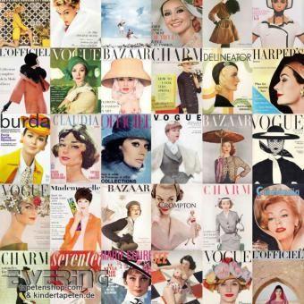 Cover von Modezeitschriften sorgen für coolen Lifestyle an den Wänden