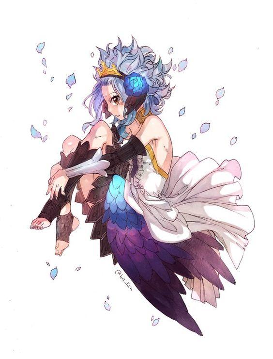 Ma petite Lévy de fairy tail ❤️